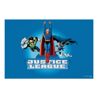Justice League Power Trio Posters