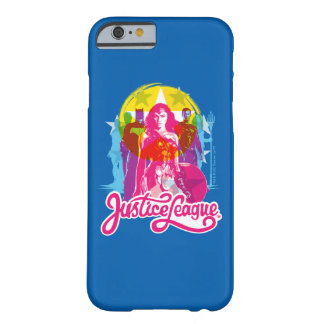Justice League | Retro Group & Logo Pop Art Barely There iPhone 6 Case