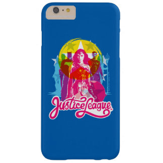Justice League | Retro Group & Logo Pop Art Barely There iPhone 6 Plus Case
