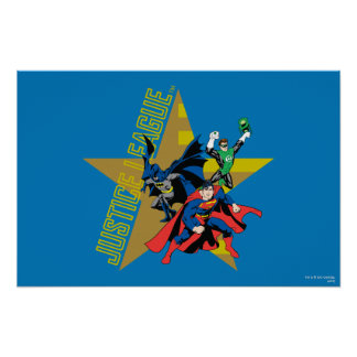 Justice League Star Heroes Poster