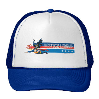 Justice League Stars and Stripes Trucker Hats