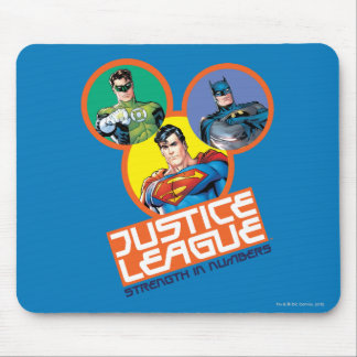 """Justice League """"Strength in Numbers"""" Mousepads"""