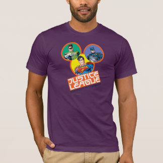 """Justice League """"Strength in Numbers"""" T-Shirt"""