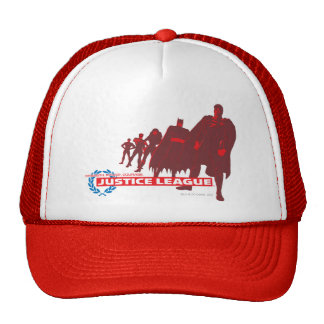 Justice League Strength Power Courage Ensemble Trucker Hat