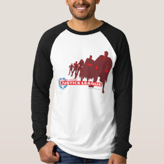 Justice League Strength. Power. Courage. Ensemble T Shirts