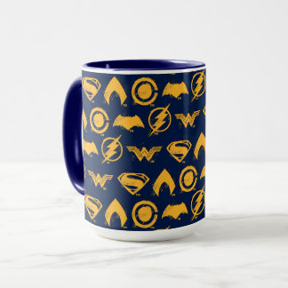 Justice League | Stylized Team Symbols Lineup Mug