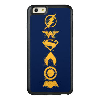 Justice League | Stylized Team Symbols Lineup OtterBox iPhone 6/6s Plus Case
