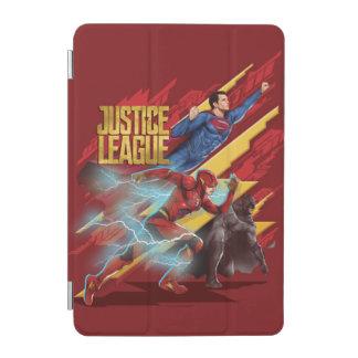 Justice League | Superman, Flash, & Batman Badge iPad Mini Cover