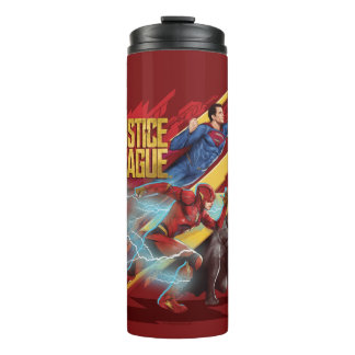 Justice League | Superman, Flash, & Batman Badge Thermal Tumbler