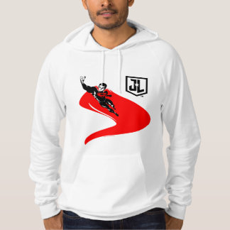 Justice League | Superman Flying Noir Pop Art Hoodie