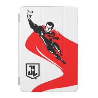 Justice League   Superman Flying Noir Pop Art iPad Mini Cover