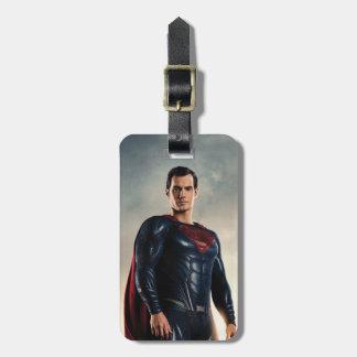 Justice League   Superman On Battlefield Luggage Tag