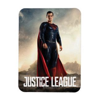 Justice League | Superman On Battlefield Magnet
