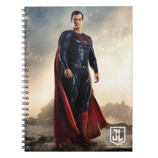 Justice League | Superman On Battlefield Notebooks