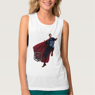 Justice League | Superman On Battlefield Singlet