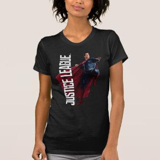 Justice League   Superman On Battlefield T-Shirt