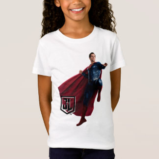 Justice League | Superman On Battlefield T-Shirt