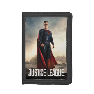 Justice League | Superman On Battlefield Tri-fold Wallet