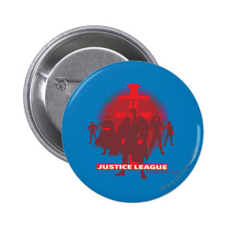 Justice League Sword and Scale 6 Cm Round Badge