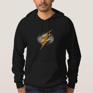 Justice League | The Flash Metallic Bolt Symbol Hoodie