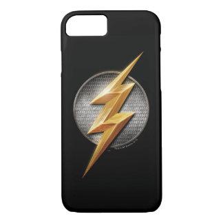 Justice League | The Flash Metallic Bolt Symbol iPhone 8/7 Case