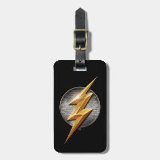 Justice League | The Flash Metallic Bolt Symbol Luggage Tag