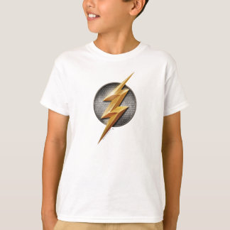 Justice League   The Flash Metallic Bolt Symbol T-Shirt