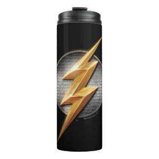 Justice League | The Flash Metallic Bolt Symbol Thermal Tumbler