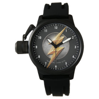 Justice League | The Flash Metallic Bolt Symbol Watch