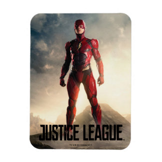Justice League | The Flash On Battlefield Magnet