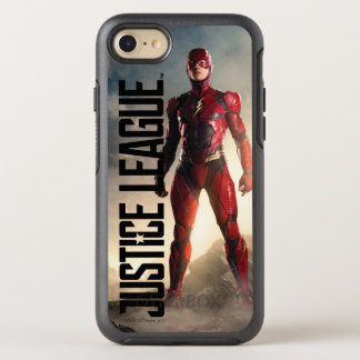 Justice League | The Flash On Battlefield OtterBox Symmetry iPhone 8/7 Case