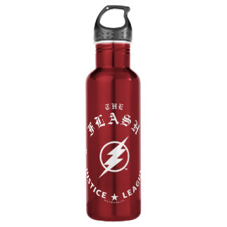 Justice League | The Flash Retro Lightning Emblem 710 Ml Water Bottle