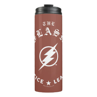 Justice League | The Flash Retro Lightning Emblem Thermal Tumbler