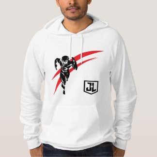Justice League | The Flash Running Noir Pop Art Hoodie