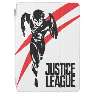 Justice League | The Flash Running Noir Pop Art iPad Air Cover