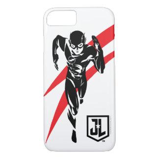Justice League | The Flash Running Noir Pop Art iPhone 8/7 Case