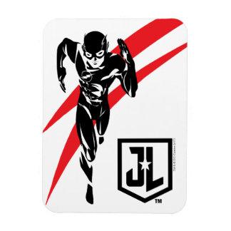 Justice League | The Flash Running Noir Pop Art Magnet