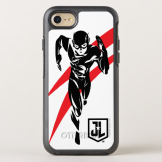 Justice League | The Flash Running Noir Pop Art OtterBox Symmetry iPhone 8/7 Case