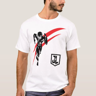 Justice League | The Flash Running Noir Pop Art T-Shirt