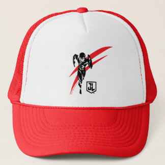 Justice League | The Flash Running Noir Pop Art Trucker Hat