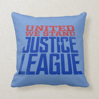 Justice League | United We Stand Graphic Cushion