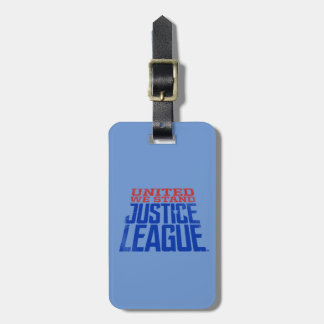 Justice League   United We Stand Graphic Luggage Tag