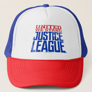Justice League | United We Stand Graphic Trucker Hat