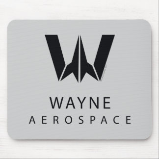 Justice League | Wayne Aerospace Logo Mouse Pad