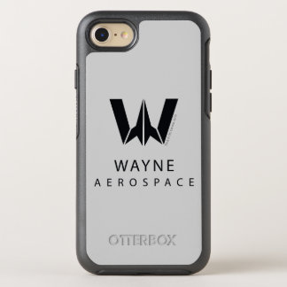 Justice League | Wayne Aerospace Logo OtterBox Symmetry iPhone 8/7 Case