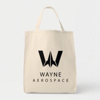 Justice League | Wayne Aerospace Logo Tote Bag