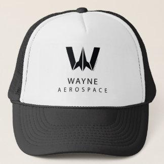Justice League | Wayne Aerospace Logo Trucker Hat