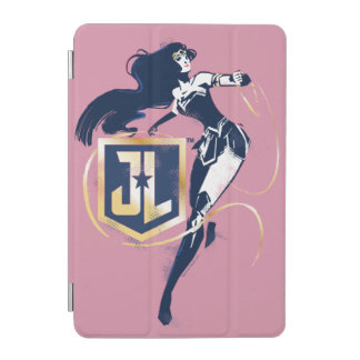 Justice League   Wonder Woman & JL Icon Pop Art iPad Mini Cover