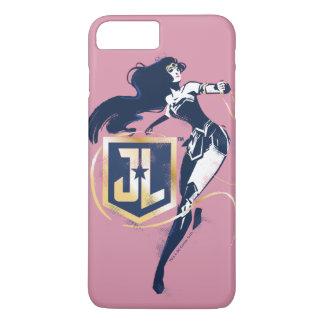 Justice League | Wonder Woman & JL Icon Pop Art iPhone 8 Plus/7 Plus Case