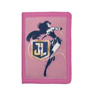 Justice League | Wonder Woman & JL Icon Pop Art Trifold Wallets
